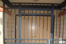 STEEL SECURITY GRILLS